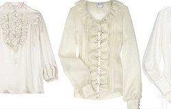 Фасоны блузок с коротким рукавом
