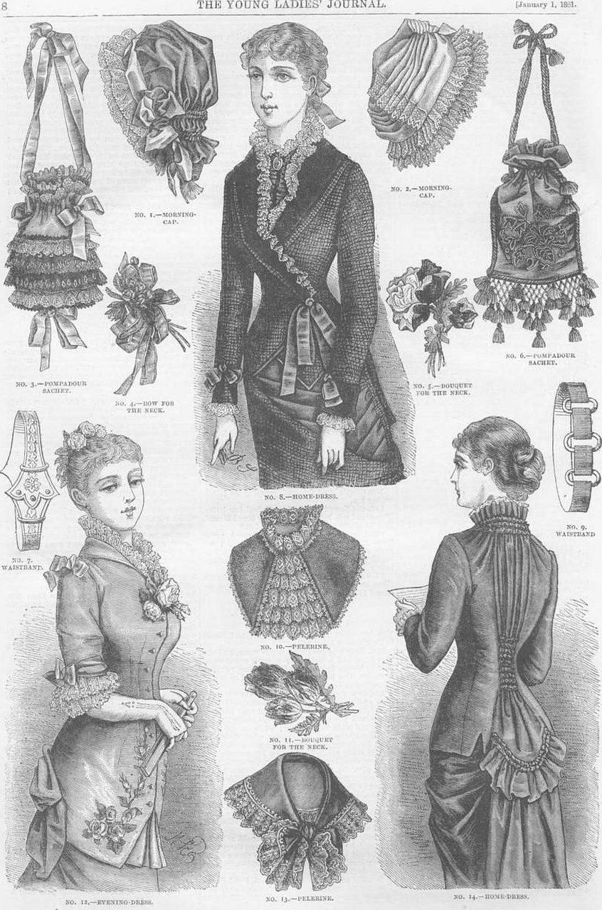 Одежда викторианской эпохи рисунок