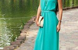 Фасоны и модели летних платьев
