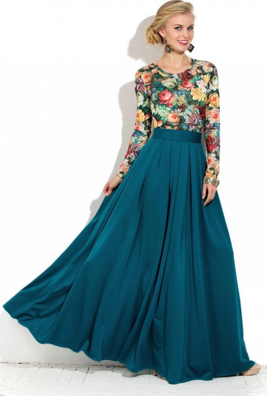 Длинные платья и юбки в пол