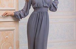 Фасоны и модели платьев из шифона
