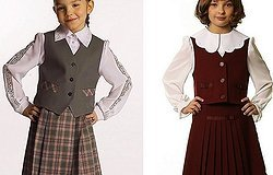 Фасоны и модели школьной формы для девочек