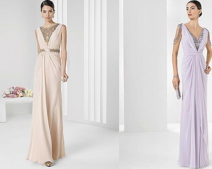 Легкое вечернее платье в греческом стиле