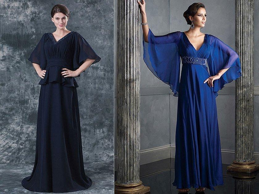 Вечерние платья в греческом стиле с закрытыми плечами