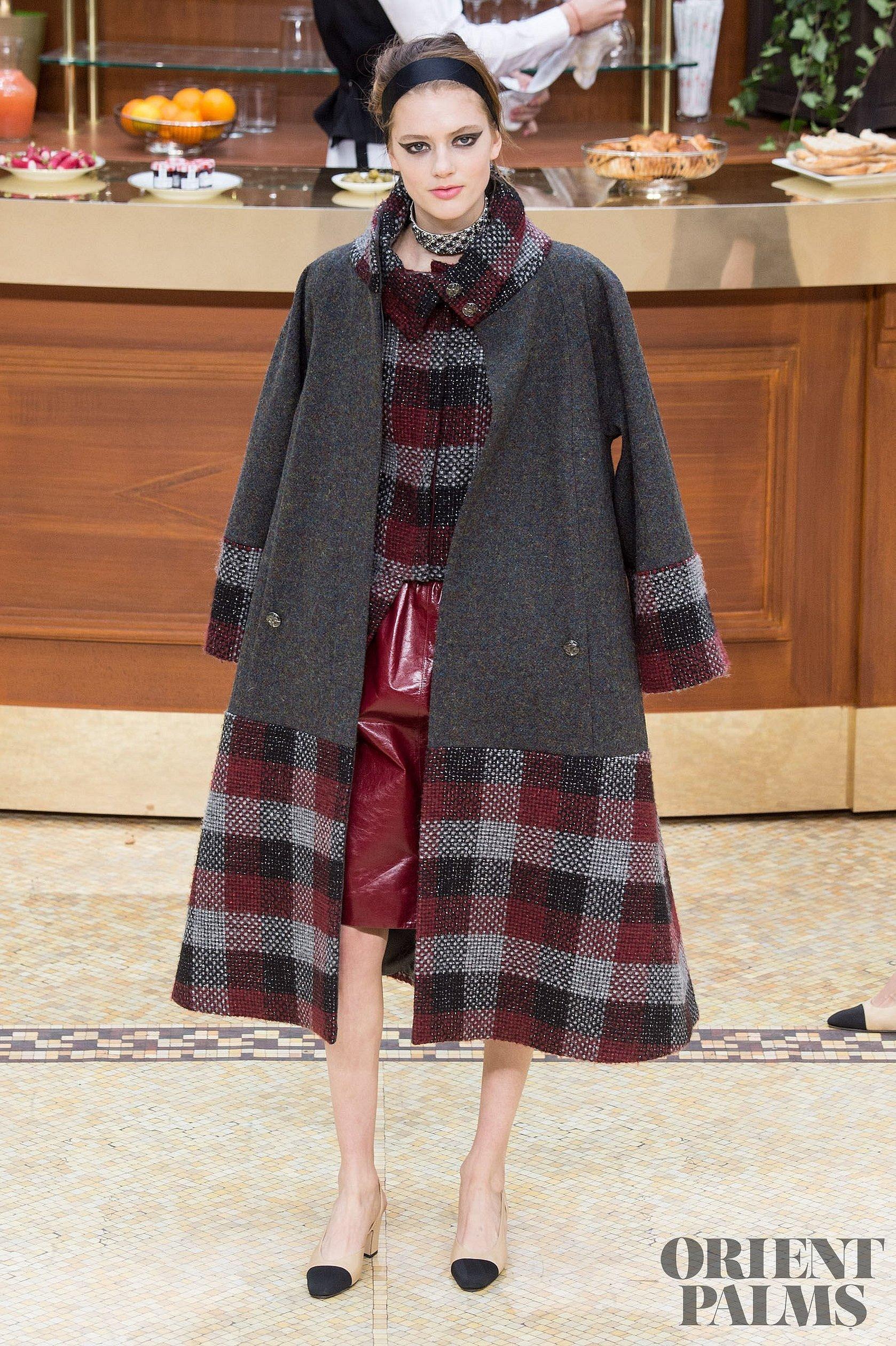 Платье-пальто из шанель
