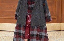 Варианты пальто с рукавом реглан