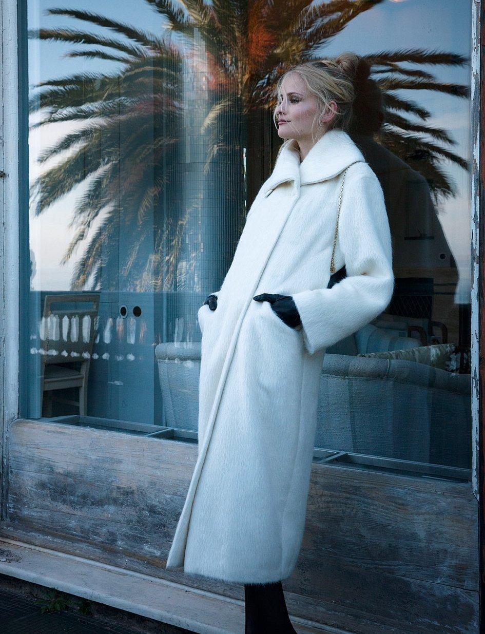 Винтажное пальто бурда