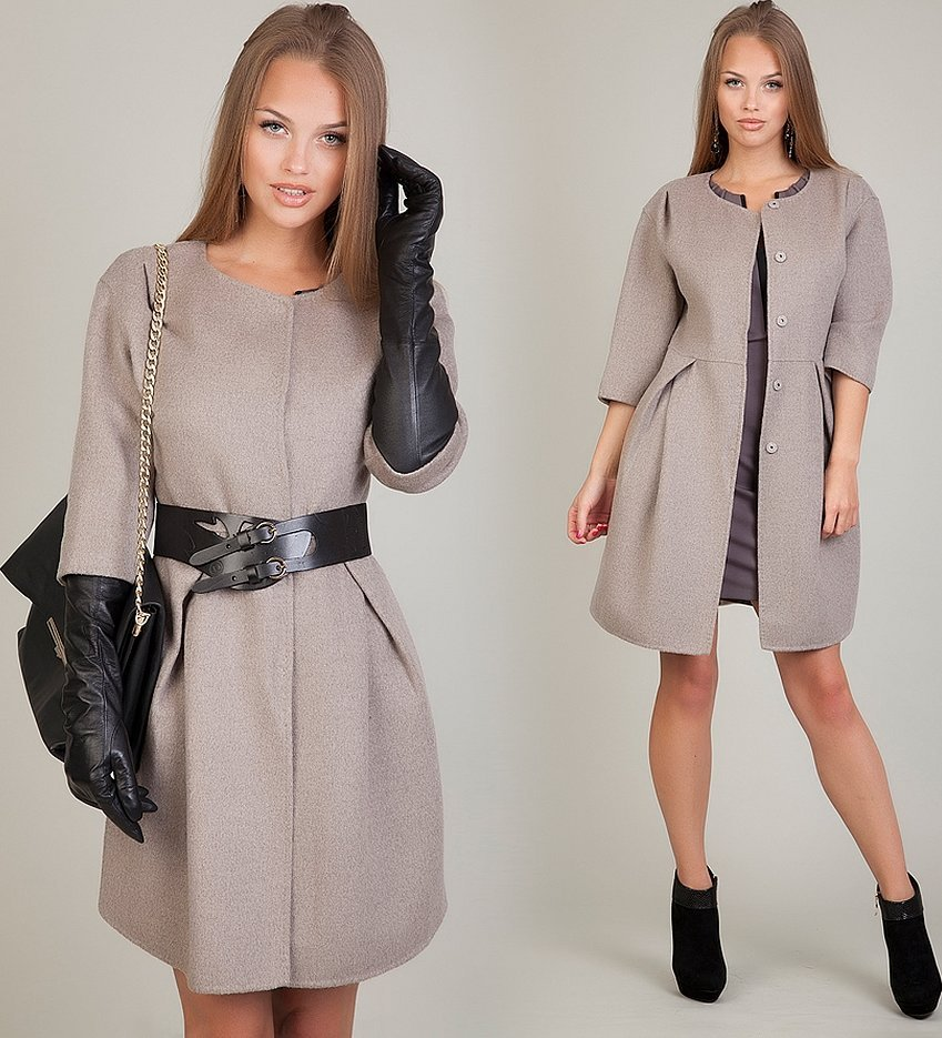 Красивые пальто для женщин