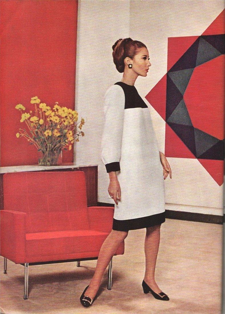 Платье мондриана ив сен лоран