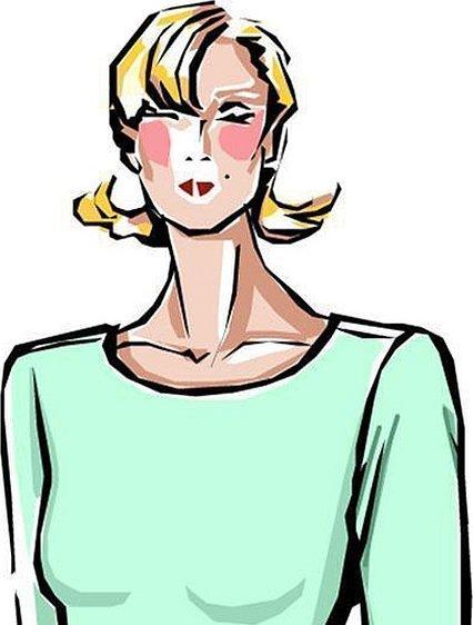 Иллюстрация женщина