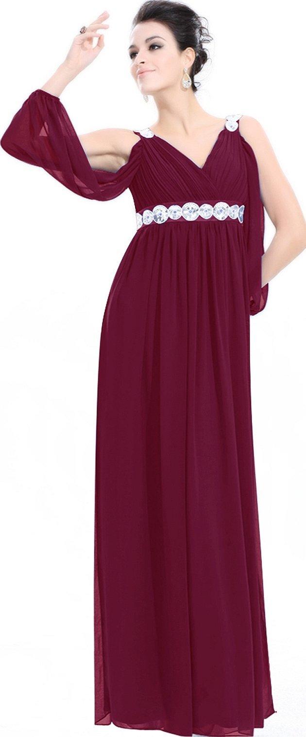 Вечерние платья фиолетовые в греческом стиле
