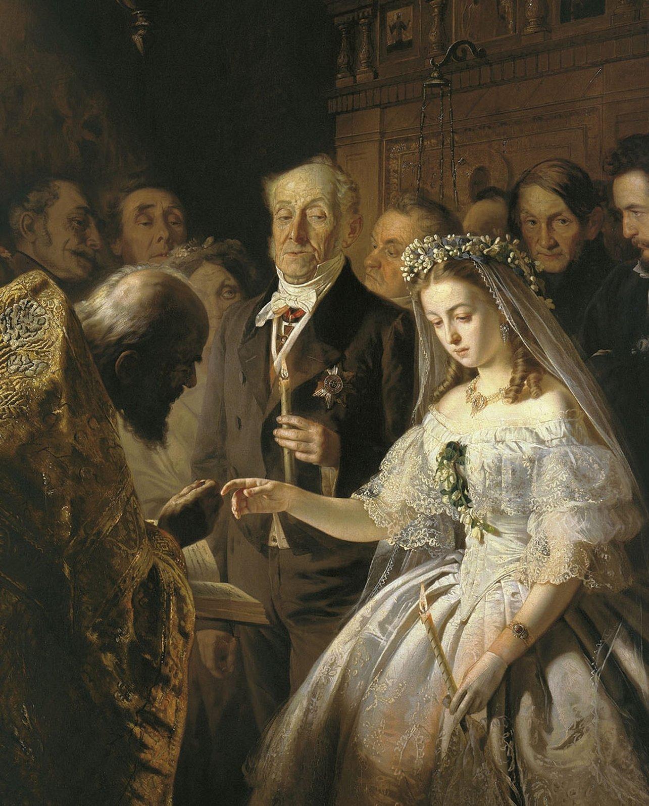 Картина пукирева неравный брак