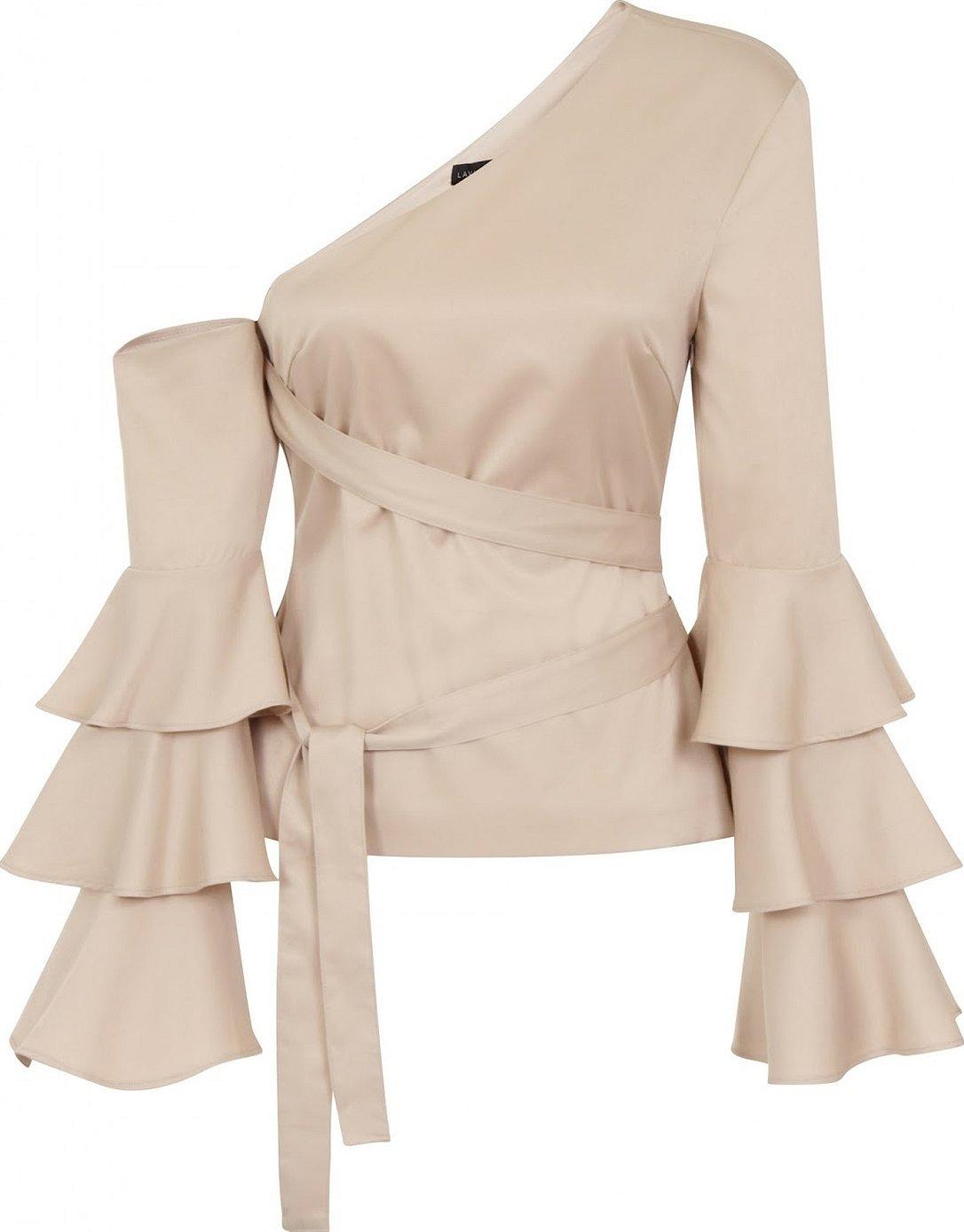 Блузки с открытыми плечами в викторианском стиле