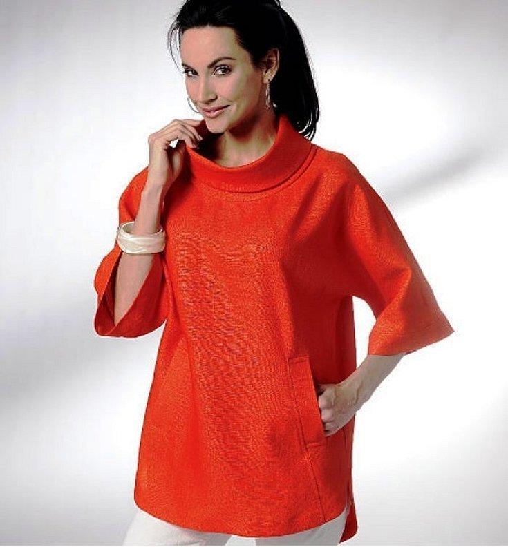Платье цельнокроеный рукав шитье