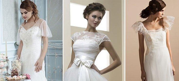Свадебное платье классика кружева