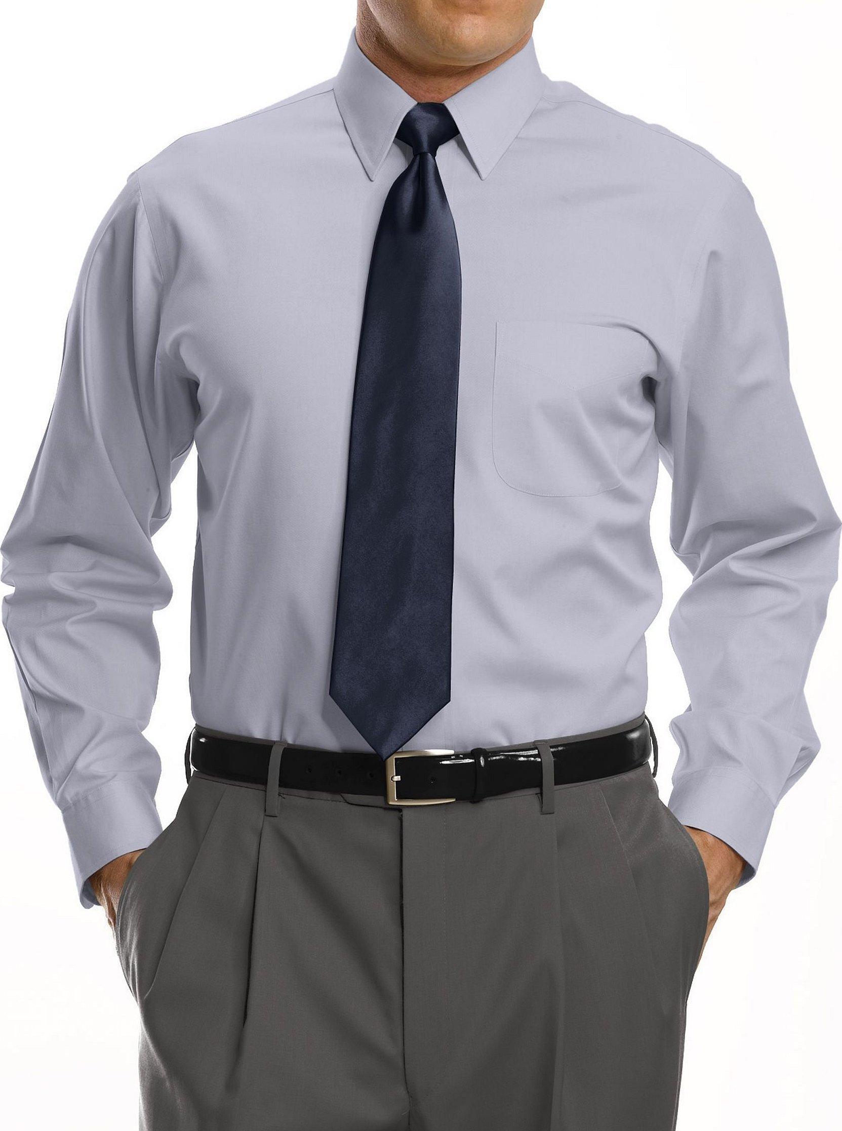 Белая рубашка с галстуком мужская для фотошопа