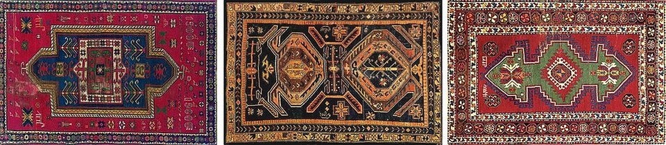 Армянский ковер древний орнамент