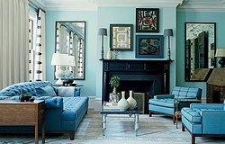 Бирюза в интерьере дома: как внедрить бирюзовый цвет в помещение