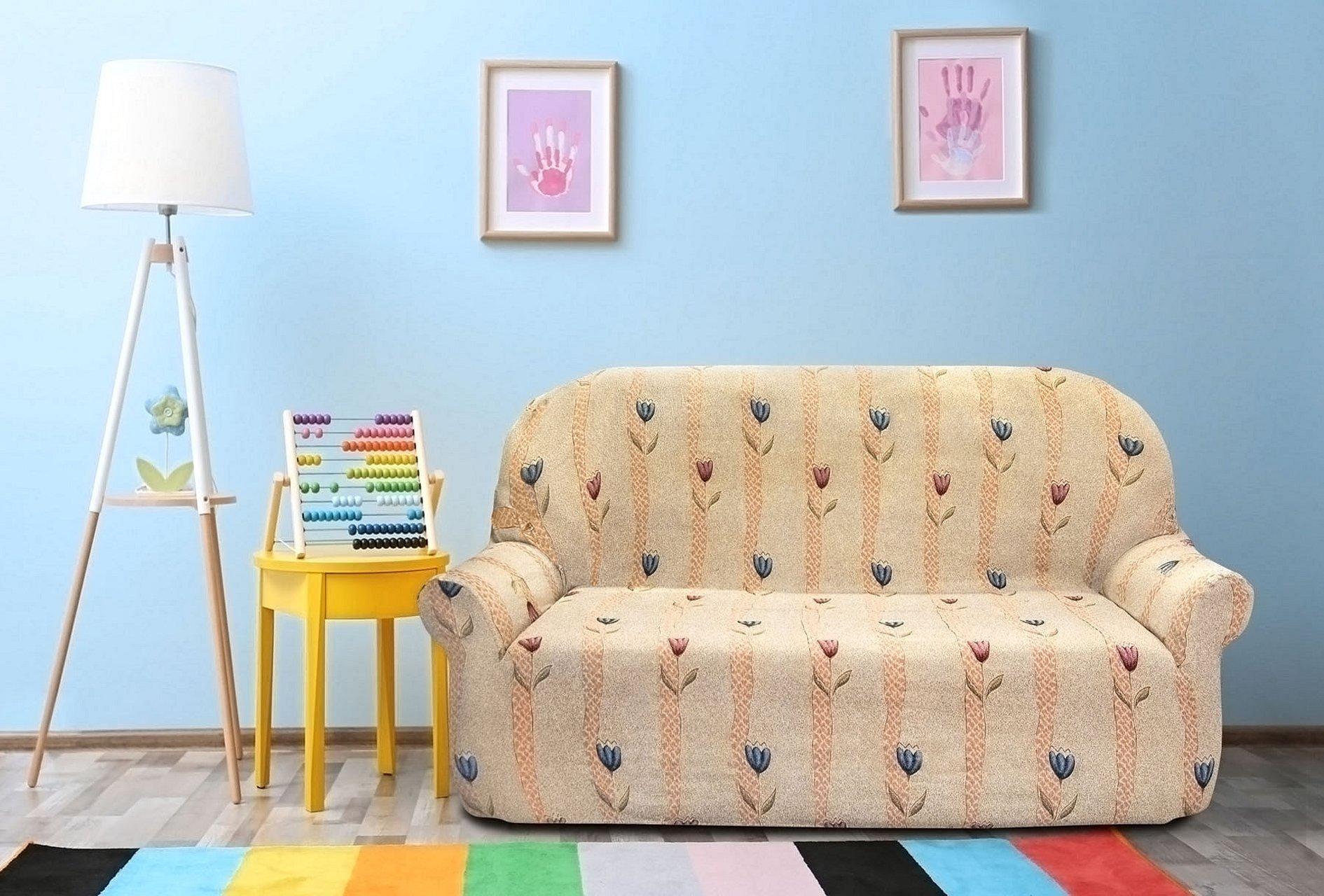 Чехол на двухместный диван