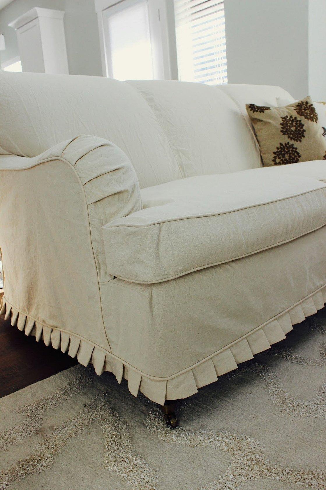 Накидки на диван и кресла в стиле прованс