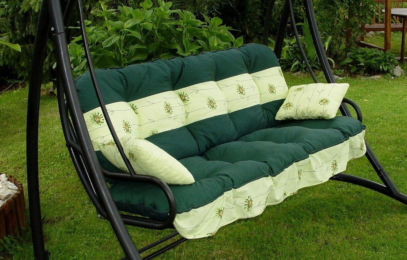 Подушки для садовых качелей