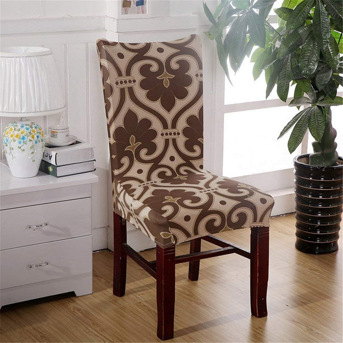 Чехлы на стулья со спинкой и подлокотниками