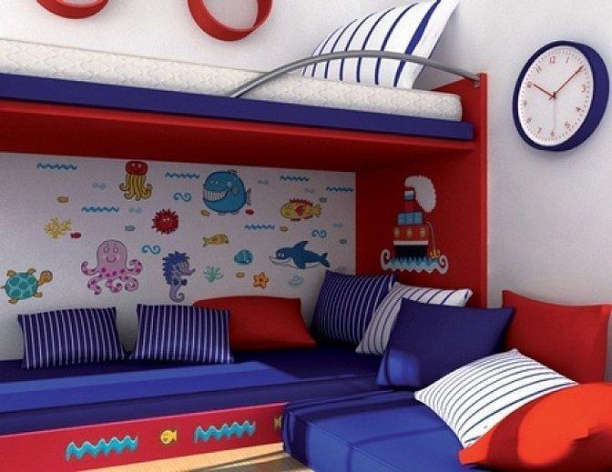 Мебель стиль диван детский морячок