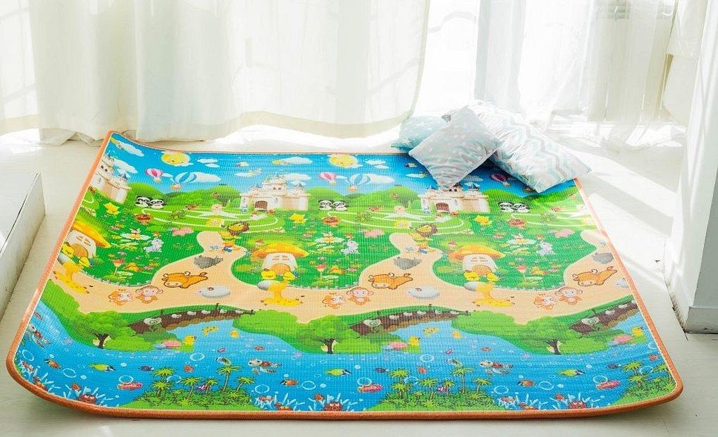 Двусторонний детский коврик