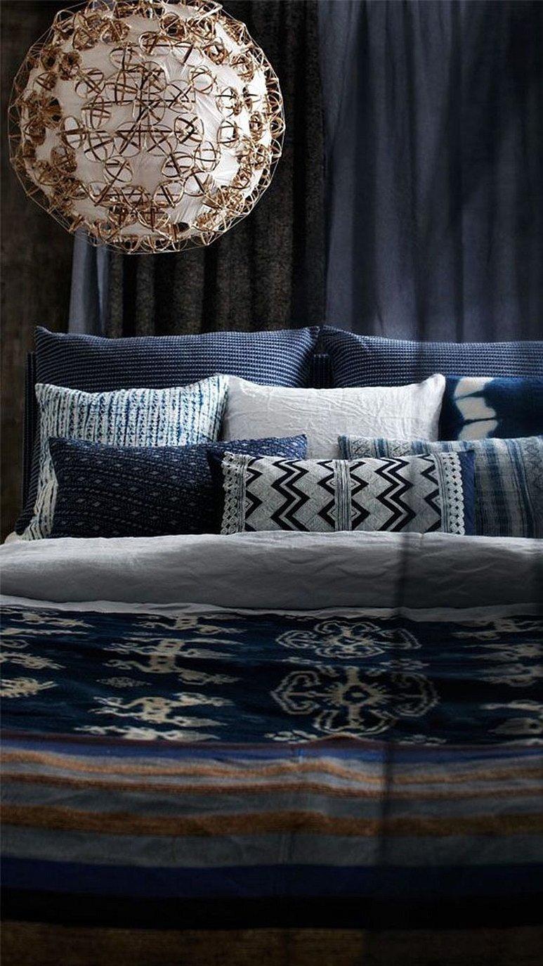 Декор кровати в марокканском стиле
