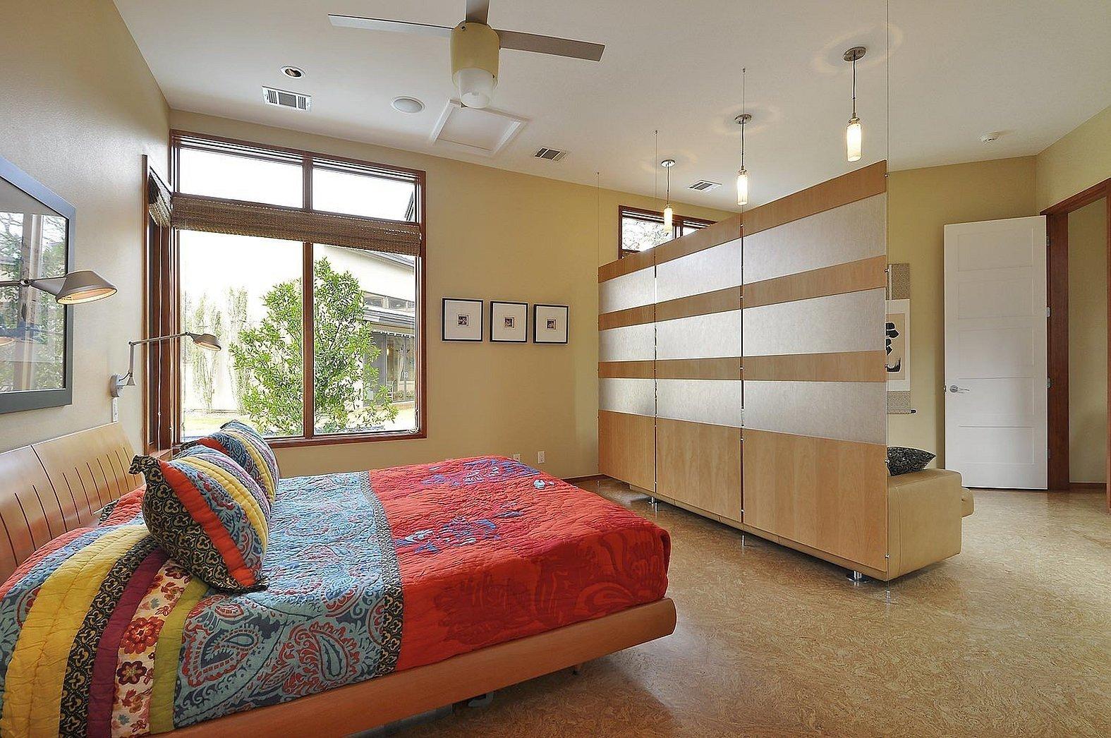 Перегородка для зонирования комнаты раздвижные
