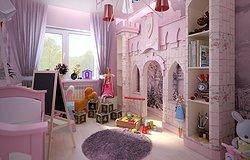 Детская комната: как подобрать постельный комплект и другие элементы интерьера для девочек?
