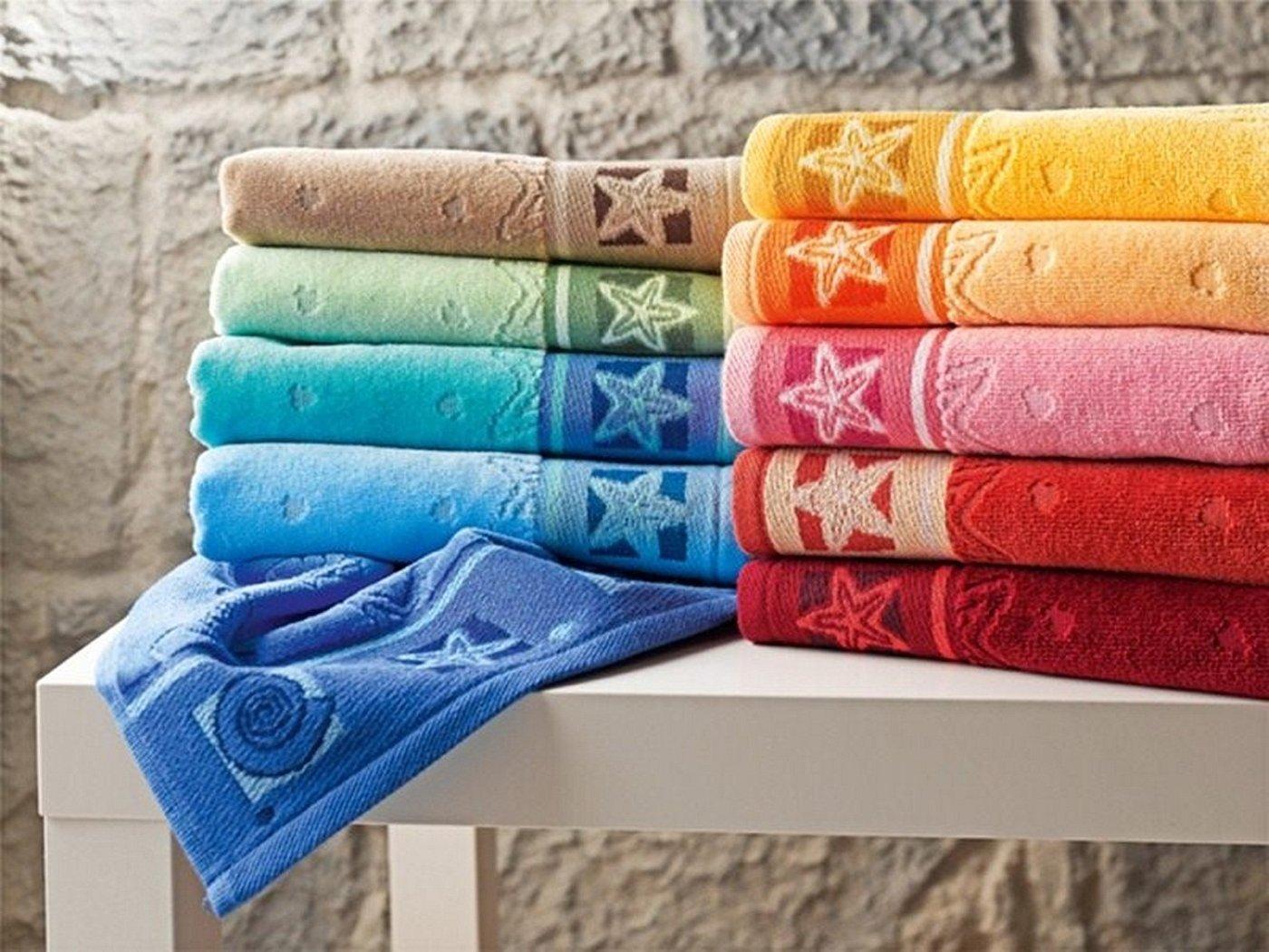 Махровые полотенца красивое