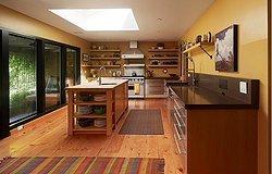 Правильный ковер на кухню: какие материалы соответствуют требованиям