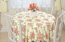 Виниловая скатерть для кухонного стола