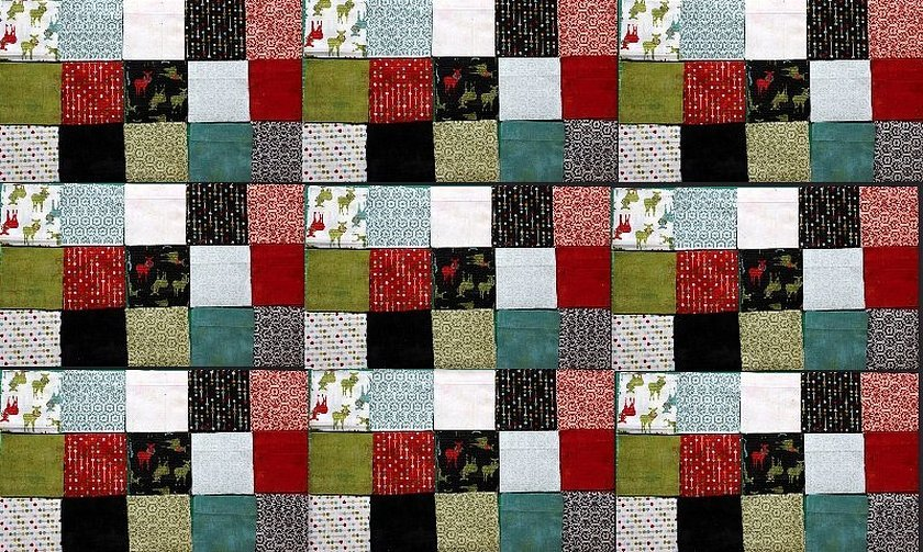 Пэчворк одеяло текстура