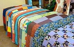 Основы квилтинга, или как сшить стеганое покрывало на кровать