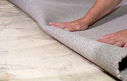 Почему на ковровом покрытии появляются складки?