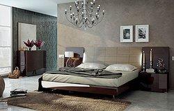 Спальни в сером цвете: трендовый текстиль и отделка