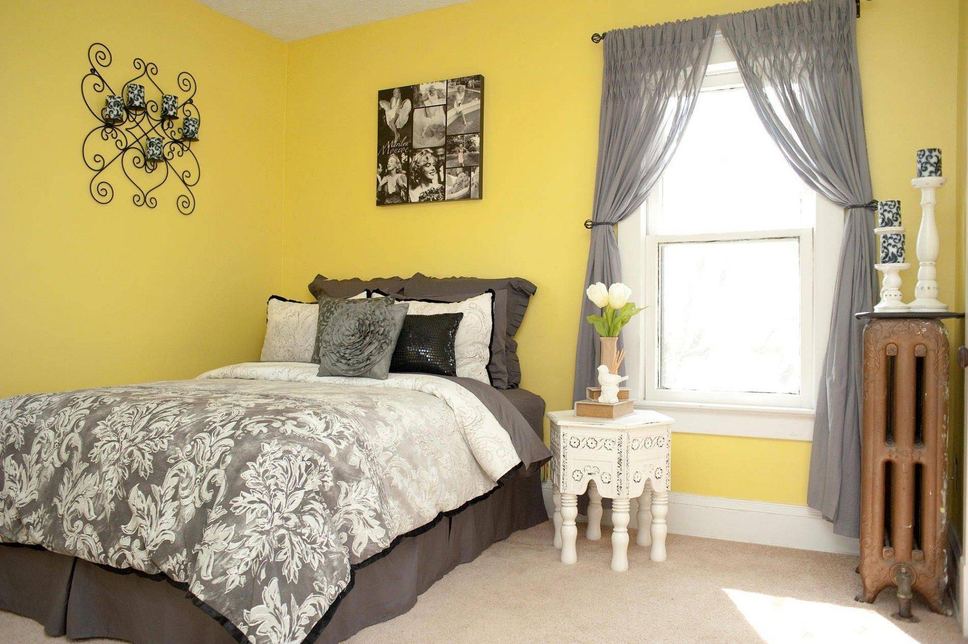 Цветовые сочетания в интерьере спальни
