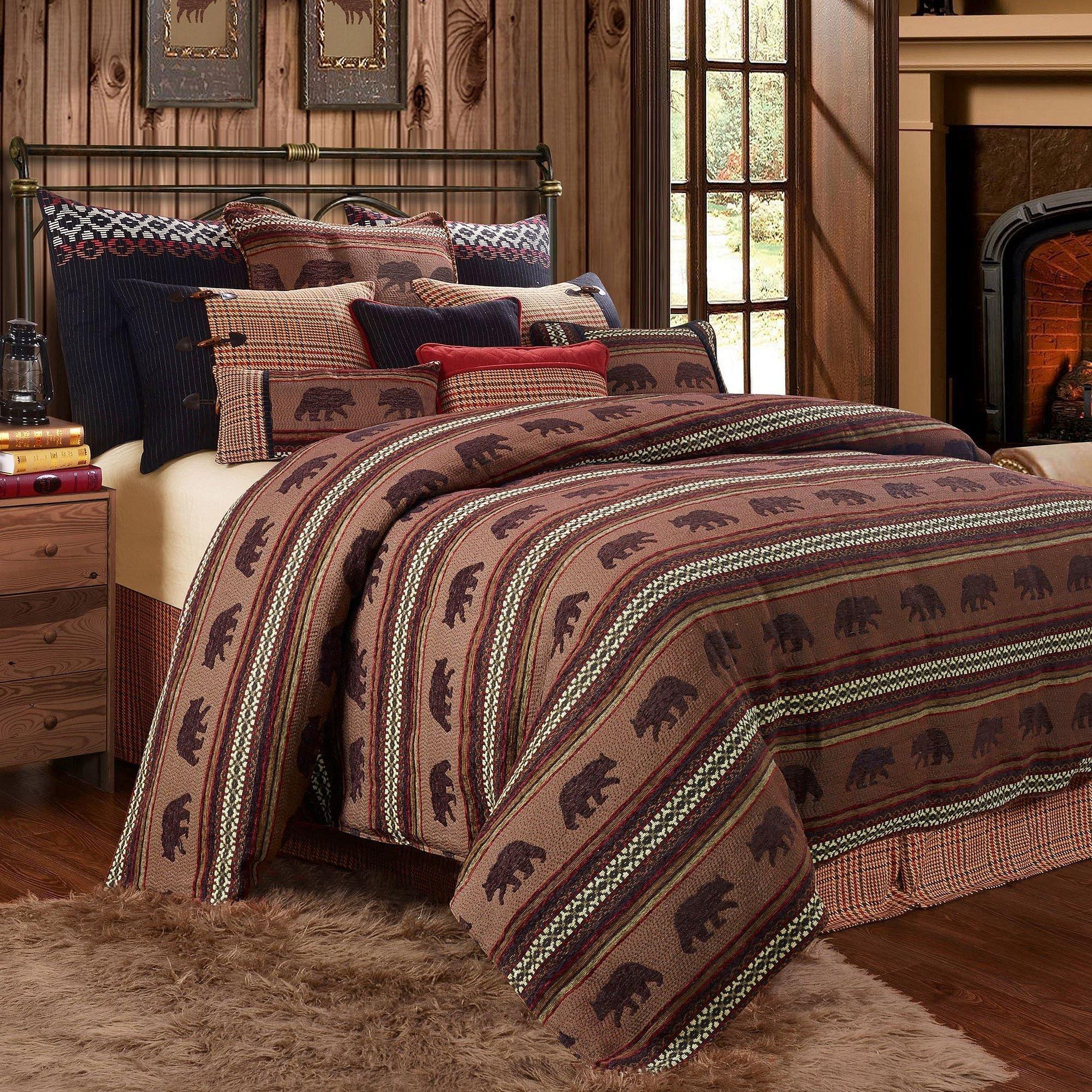 Домашний текстиль пледы рустик