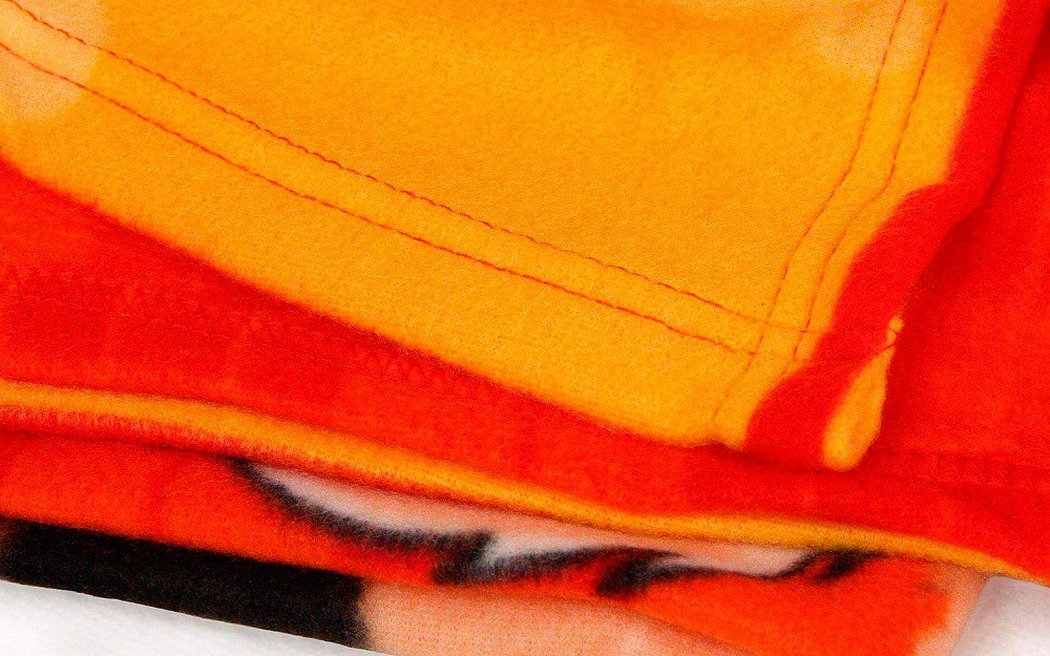 Велюровая ткань оранжевая