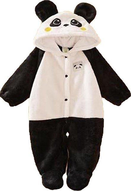 Комбинезон панда детский лекало