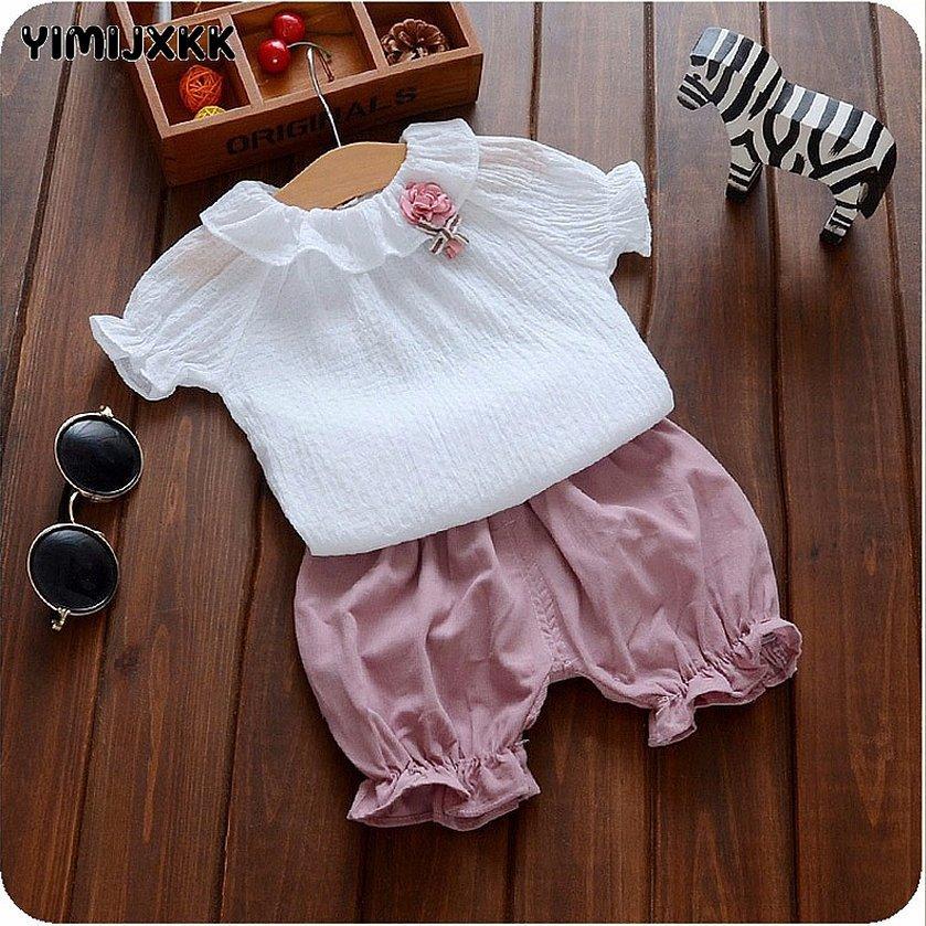 Одежда для новорожденных девочек на лето