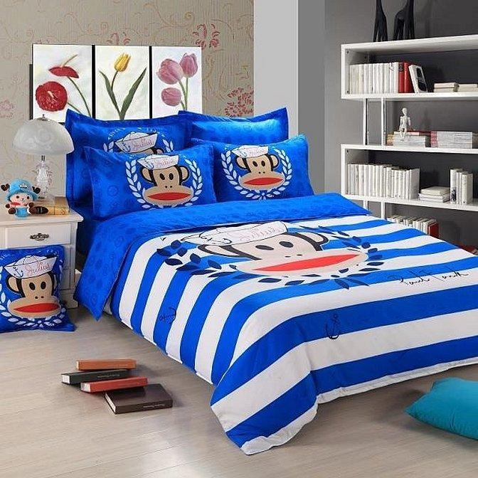Постельное белье для комнаты в морском стиле