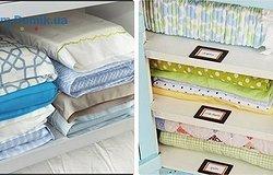Как компактно сложить постельное белье: все способы