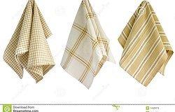 Ткань для кухонных полотенец: обзор материалов
