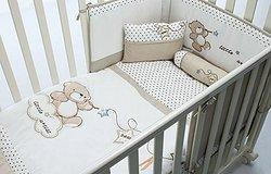 Ткань для постельного белья в люльку и кроватку