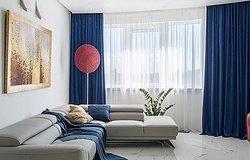 Шторы для зала: стили, рекомендации по дизайну и материалам
