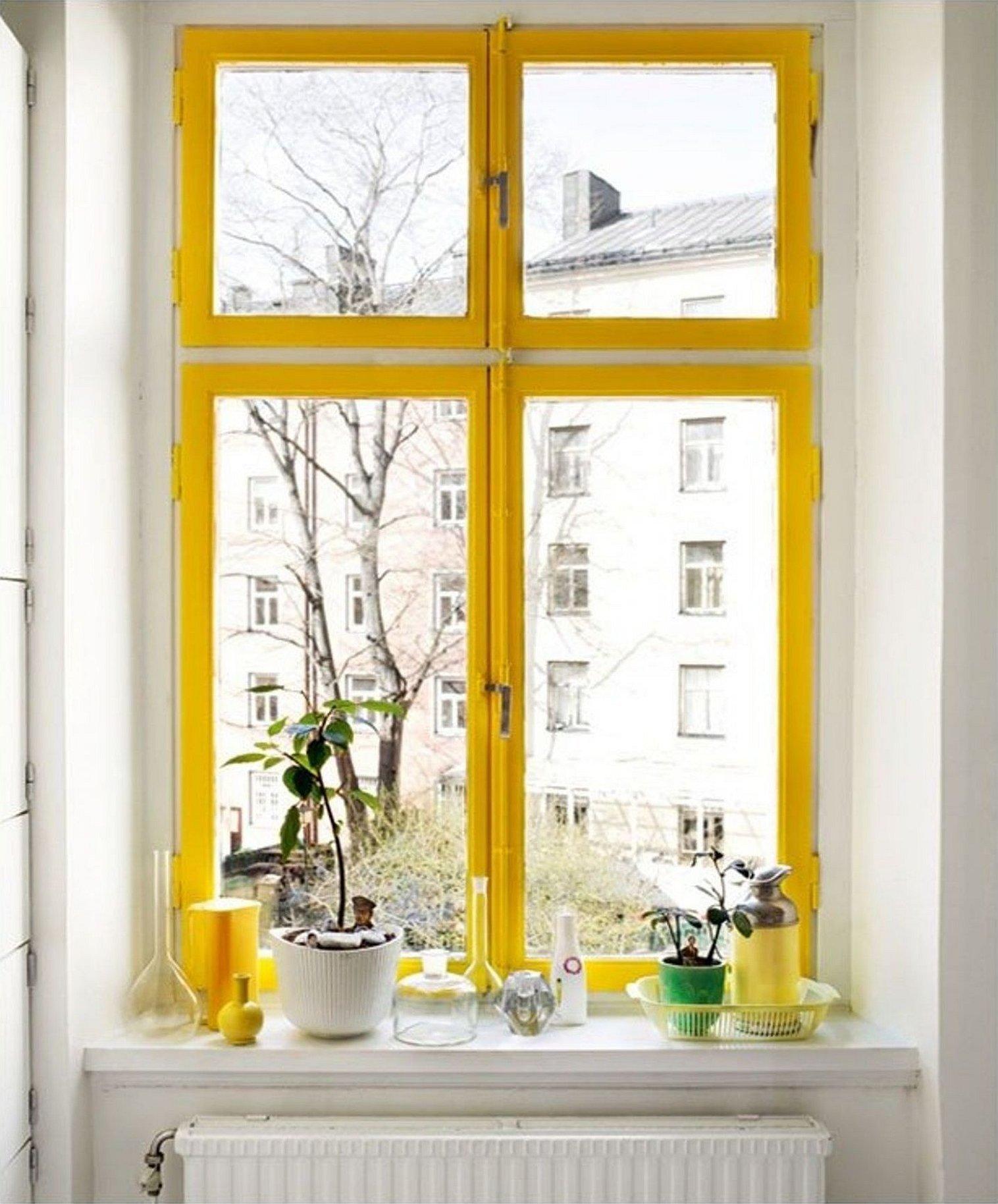 Скандинавские окна вид окна