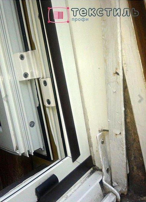 Защелка на балконную дверь на двери пвх